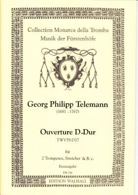 Telemann, Georg Philipp (1681-1767): Ouverture D-Dur - score