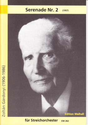 Gárdonyi, Zoltán (1906 - 1986): Serenade Nr. 2 - score