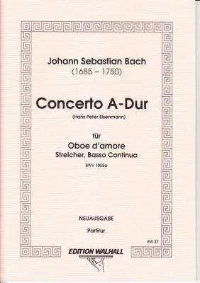 Bach, Johann Sebastian (1685-1750): Concerto A-Dur<br /> - Partitur