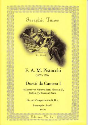 Pistocchi, Francesco A. M. (1659- 1726): Duetti da Camera - Band 1