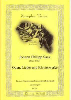 Sack, Johann Philipp (1722-1763): Oden, Lieder & Clavierwerke