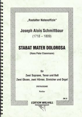 Schmittbaur, Joseph Alois (1718- 1809): Stabat Mater Dolorosa