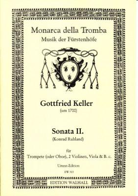 Keller, Gottfried (~ 1700): Sonata II in D