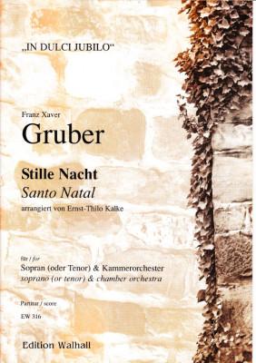 Gruber, Franz Xaver (1787-1863): Stille Nacht - Partitur