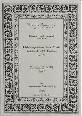 Schnell, Johann Jacob (1687-1754): Kleine angenehme Tafel-Music - Band II