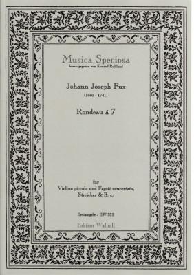 Fux, Johann Joseph (1660-1741): Rondeau á 7