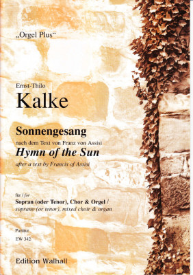 Kalke, Ernst-Thilo (*1924): Sonnengesang nach Franz v. Assisi