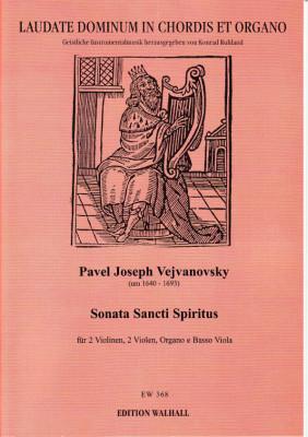 Vejvanovsky, Pavel Joseph (~1640– 1693): Sonata Sancti Spiritus