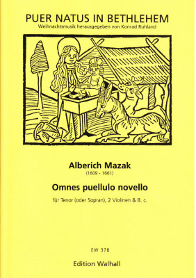 Mazak, Alberich (1609–1661): Omnes puellulo novello