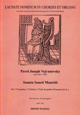 Vejvanovsky, Pavel Joseph (~1640– 1693): Sonata Sancti Mauritii
