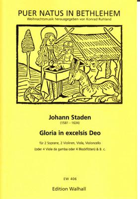 "Staden, Johann (1581-1634): ""Gloria in excelsis Deo"""