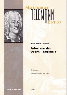Telemann, Georg Philipp (1681-1767): Opernarien - Band I