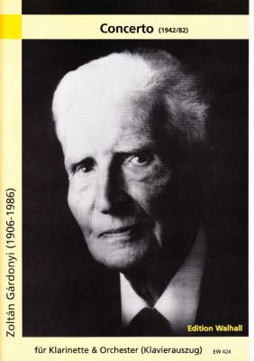 Gardonyi, Zoltan (1906-1986): Concerto<br>- piano score