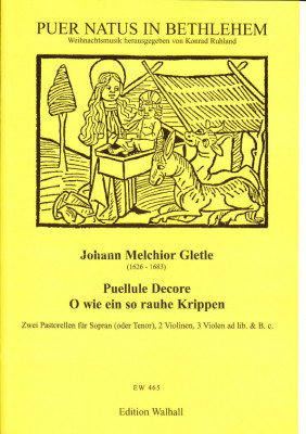 Gletle, Johann Melchior (1626- 1683): Zwei Weihnachtspastorellen
