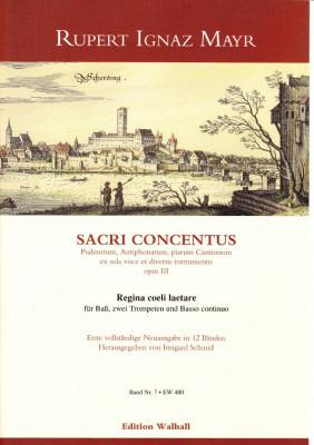 Mayr, Rupert Ignaz (1646-1712): Regina coeli laetare