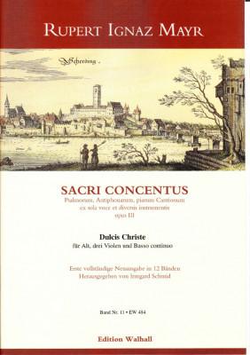 Mayr, Rupert Ignaz (1646-1712): Dulcis Christe