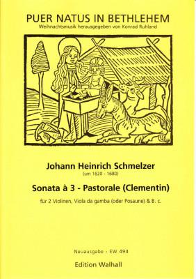 Schmelzer, Johann Heinrich (~1620–1680): Sonata à 3 - Pastorale (Clementin)