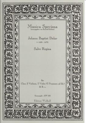 Dolar, Johann Baptist (~1620- 1673): Salve Regina