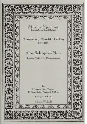 Lechler, Benedikt (1594-1659): Alma Redemptoris Mater