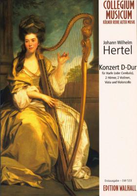 Hertel, Johann Wilhelm (1729-1789): Konzert D-Dur<br>Partitur