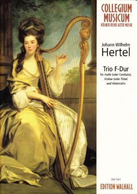 Hertel, Johann Wilhelm (1729-1789): Trio F-Dur