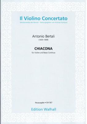 Bertali, Antonio (1605-1669): Chiacona in C