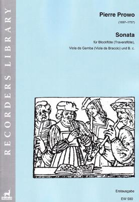 Prowo, Pierre (1697-1757): Sonata