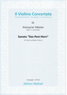"Anonymer Meister (17. Jh.): Sonata ""Das Posthorn"""