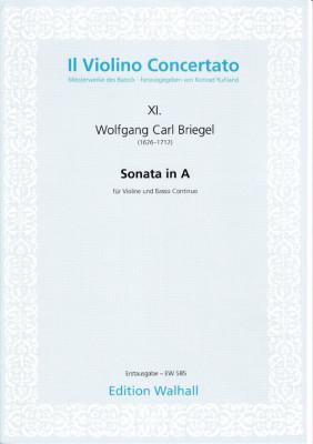 Briegel, Wolfgang Carl (1626-1712): Sonata in A