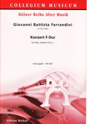 Ferrandini, Giovanni Battista (1710-1791): Konzert F-Dur