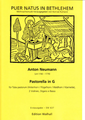 Neumann, Anton (~1740-1776): Pastor Pastorella in G