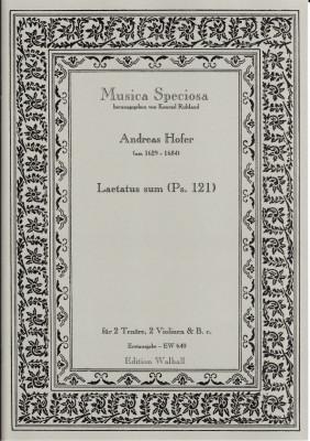 Hofer, Andreas (~1629-1684): Laetatus sum