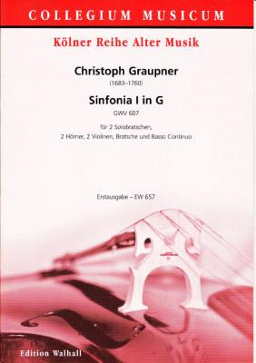 Graupner, Christoph (1683-1760): Sinfonia I in G