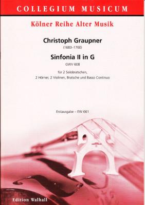 Graupner, Christoph (1683–1760): Sinfonia II in G