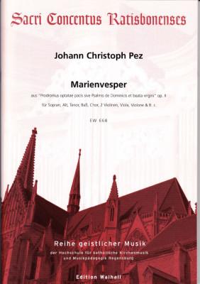 Pez, Johann Christoph (1664- 1716): Marienvesper aus op. II