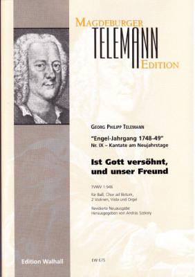 Telemann, Georg Philipp (1681-1767): Ist Gott versöhnt, und unser Freund