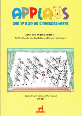 Mai-Kümmel, Katharina (*1940): Zehn Weihnachtslieder - Band II