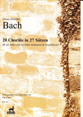 Bach, Johann Sebastian (1685-1750): 20 Choräle in 27 Sätzen