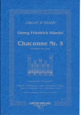 Händel, Georg Friedrich (1685-1759): Chaconne Nr. 5