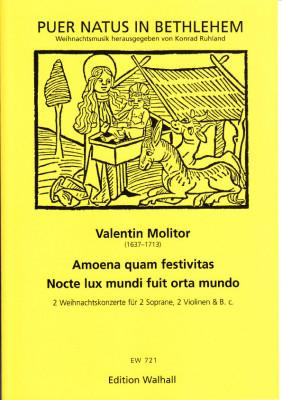 Molitor, Valentin (1637-1713): Zwei Weihnachtskonzerte