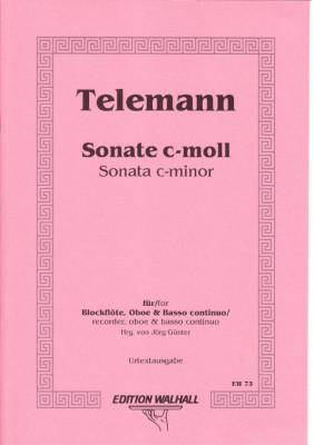 Telemann, Georg Philipp (1681–1767): Sonate c-Moll TWV 42:c2