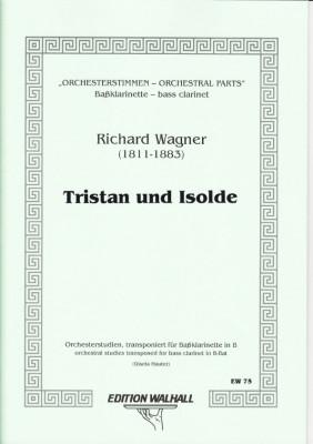 Wagner, Richard (1813-1883): Orchesterstimmen für Baßklarinette in B<br>- Tristan und Isolde