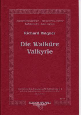 Wagner, Richard (1813-1883): Orchesterstimmen für Baßklarinette in B<br>- Walküre