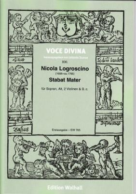 Logroscino, Nicola (1698–~1765): Stabat Mater<br />- Partitur