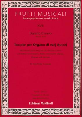 Cimino, Donato (~1675 Neapel): Toccate per Organo di varij autori<br>- Band III (Frescobaldi/Pasquini u.a.)