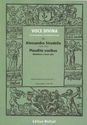 Stradella, Alessandro (1639-1682): Plaudite vocibus