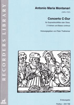 Montanari, Antonio Maria (1676–1737): Concerto C-Dur<br />– Partitur
