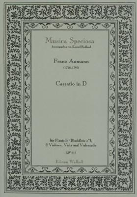Aumann, Franz (1727-1797): Cassatio in D