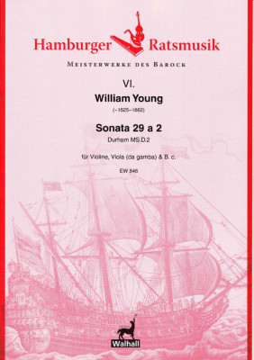 Young, William (~1625–1662): Sonata 29 a 2