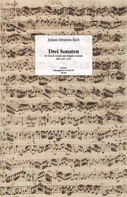 Bach, Johann Sebastian (1685–1750): Drei Sonaten BWV 1027–29